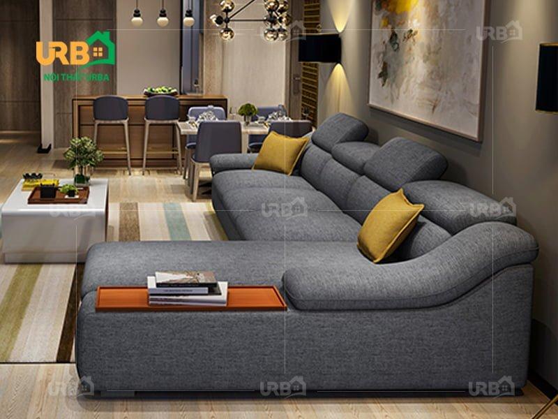 Sofa Góc Nỉ Mã 4004 2