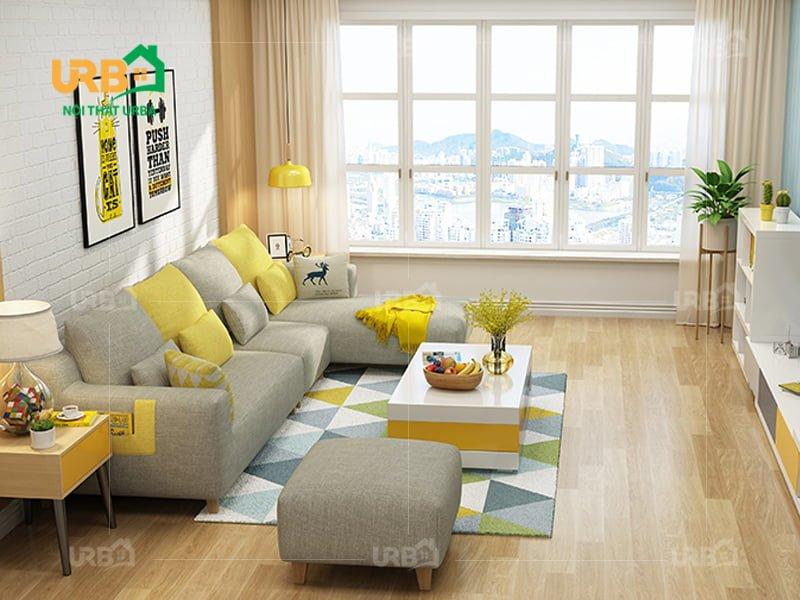 Sofa Góc Nỉ Mã 4005 1