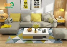 Sofa Góc Nỉ Mã 4005