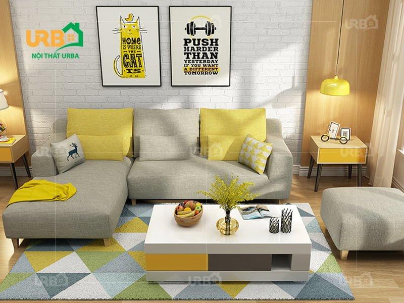 Sofa Góc Nỉ Mã 4005 2