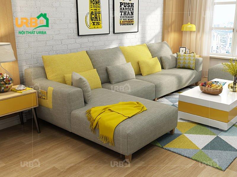 Sofa Góc Nỉ Mã 4005 4