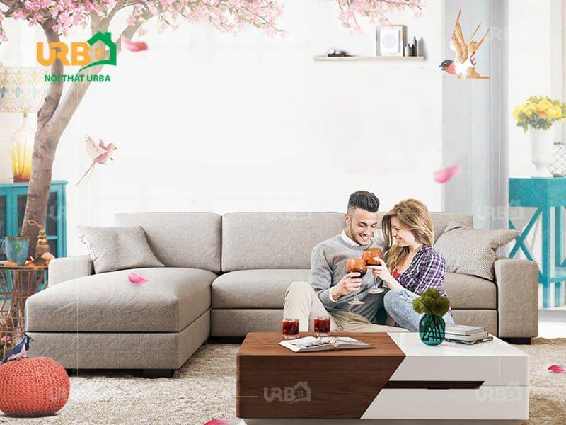 Sofa Góc Nỉ Mã 4006 3