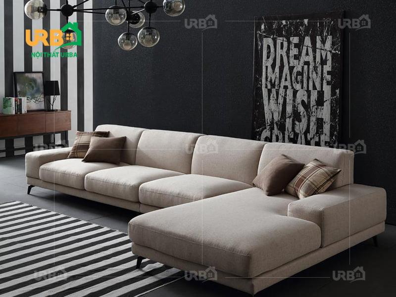 Sofa Góc Nỉ Mã 4007 2