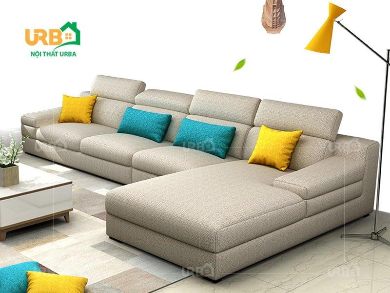 Sofa Góc Nỉ Mã 4008