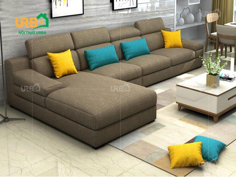 Sofa Góc Nỉ Mã 4008 2