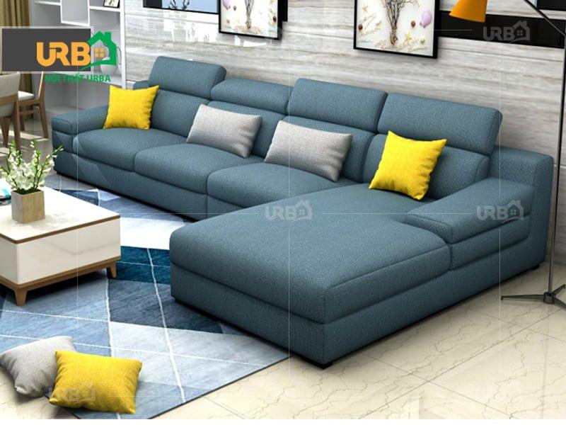 Sofa Góc Nỉ Mã 4008 1