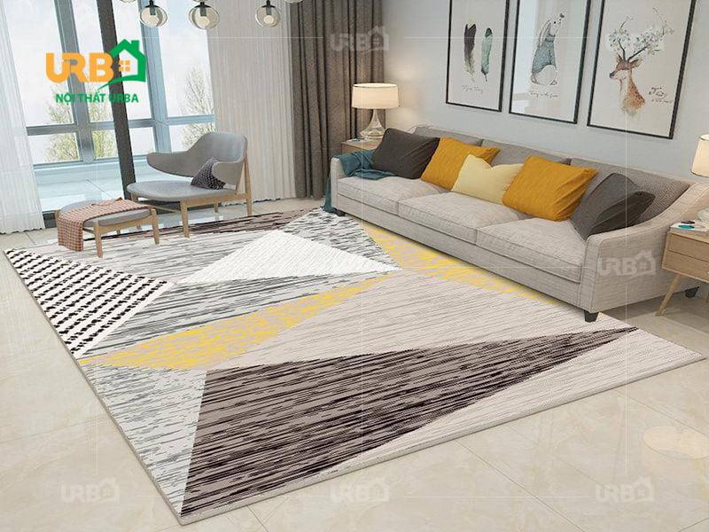 Thiết kế đơn giản, tinh tế với sofa văng nỉ mã 073