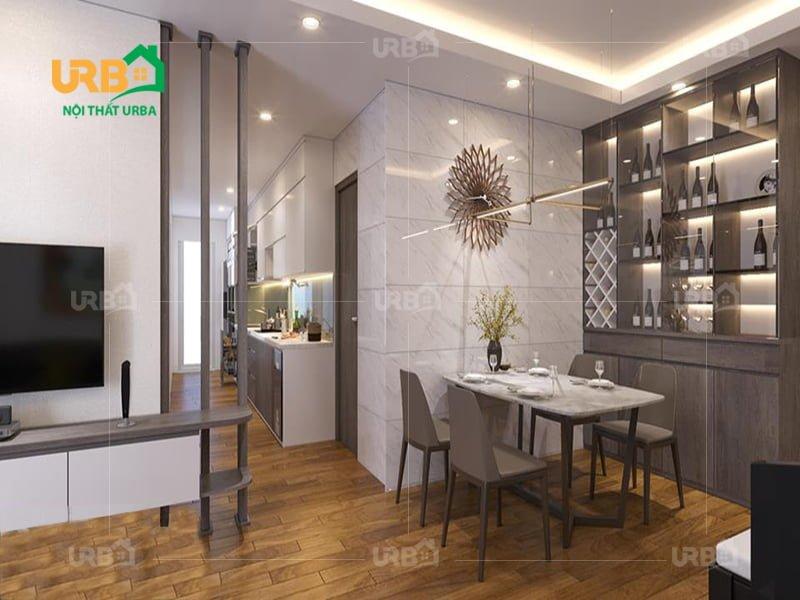 Ấn tượng với mẫu thiết kế nội thất nhà phố tại Nam Định2