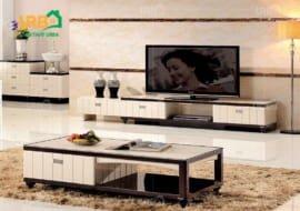 Cách bố trí kệ tivi gỗ cho không gian gia đình
