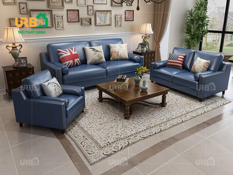 Sofa tân cổ điển 2027 Mang không gian đẳng cấp tới cho phòng khách