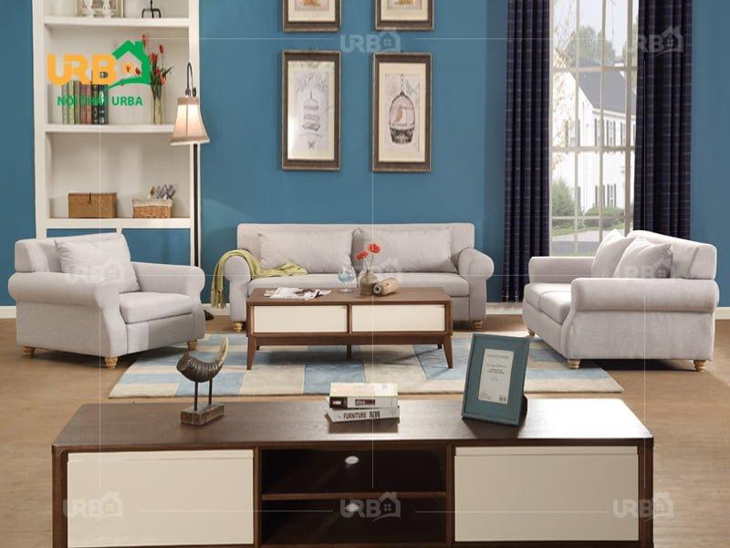 Sofa tân cổ điển và 10 nguyên tắc phối màu với sơn tường 6