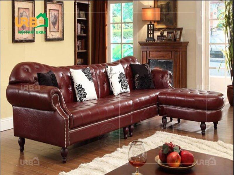 bộ sofa góc tân cổ điển