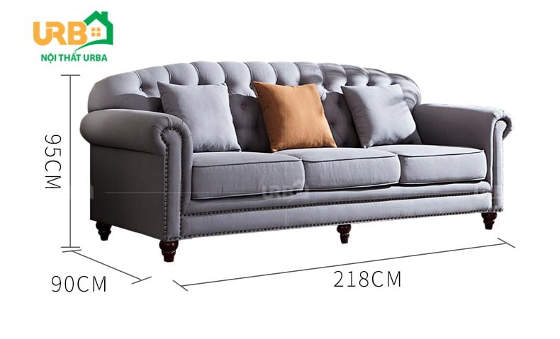 sofa tân cổ điển 2001 Đa dạng kích thước