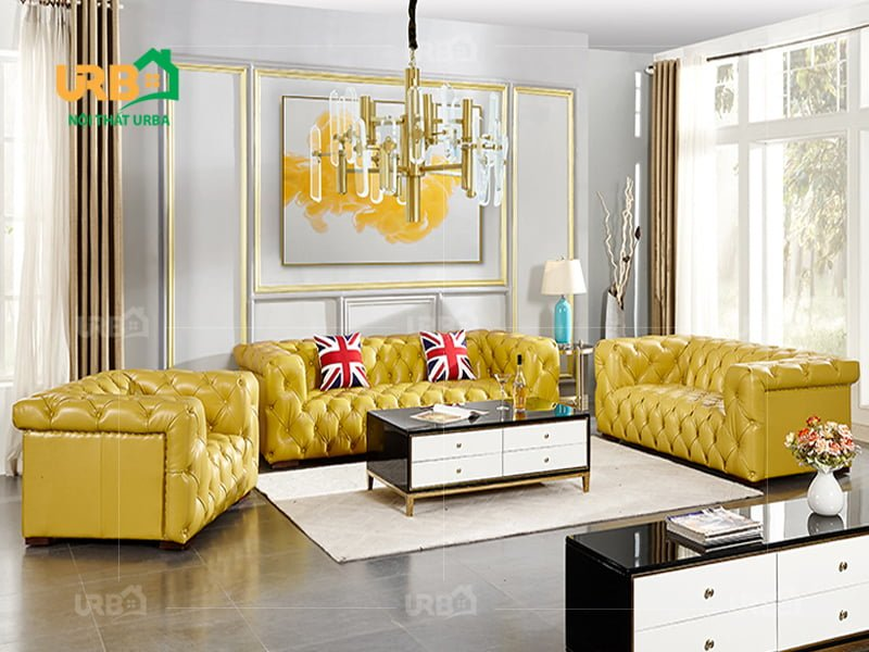 Đa dạng màu sắc và kích thước khi mua bộ sofa tân cổ điển 2004