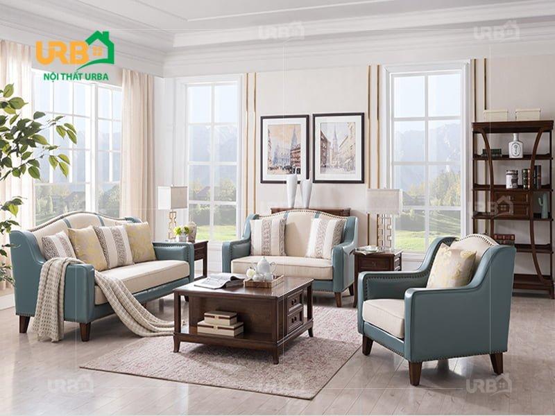Phòng khách vừa hiện đại vừa sang trọng với bộ sofa 2005
