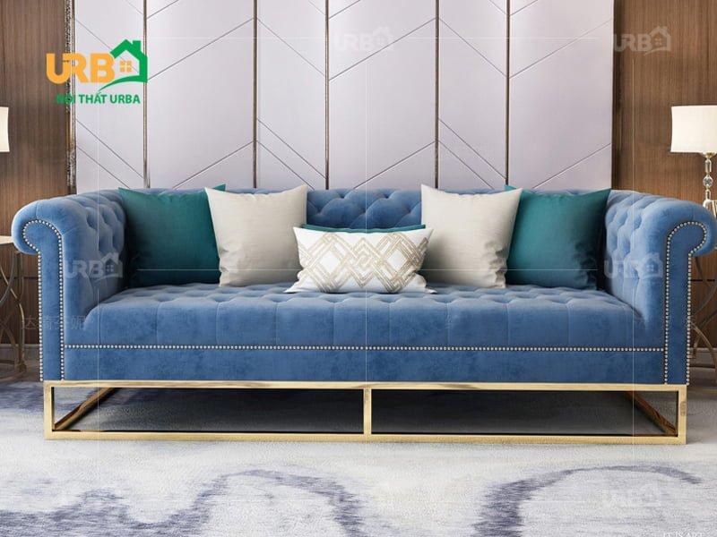 sofa tân cổ điển 2007 Kiểu dáng văng
