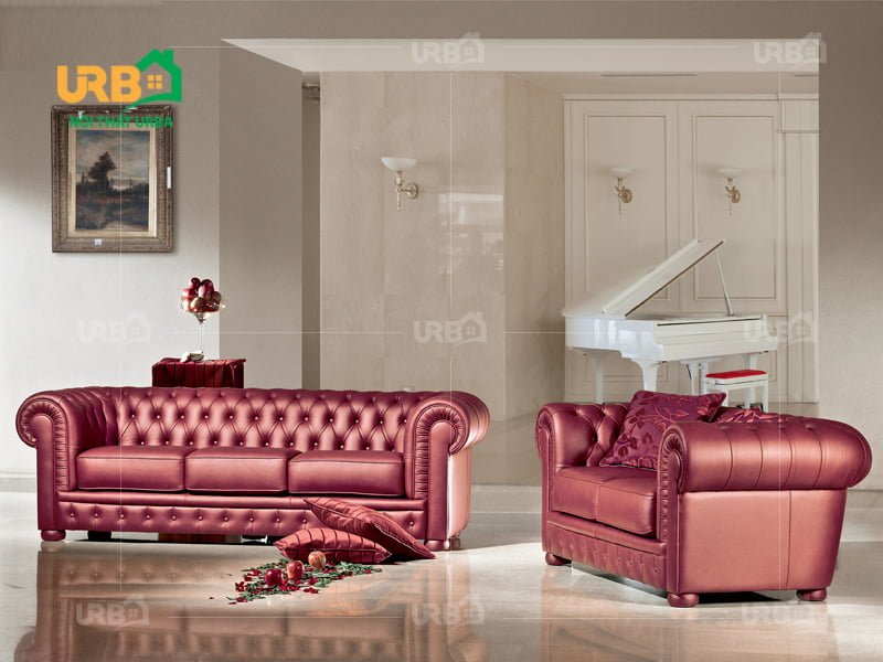 Sofa tân cổ điển 2009 phòng khách nhỏ