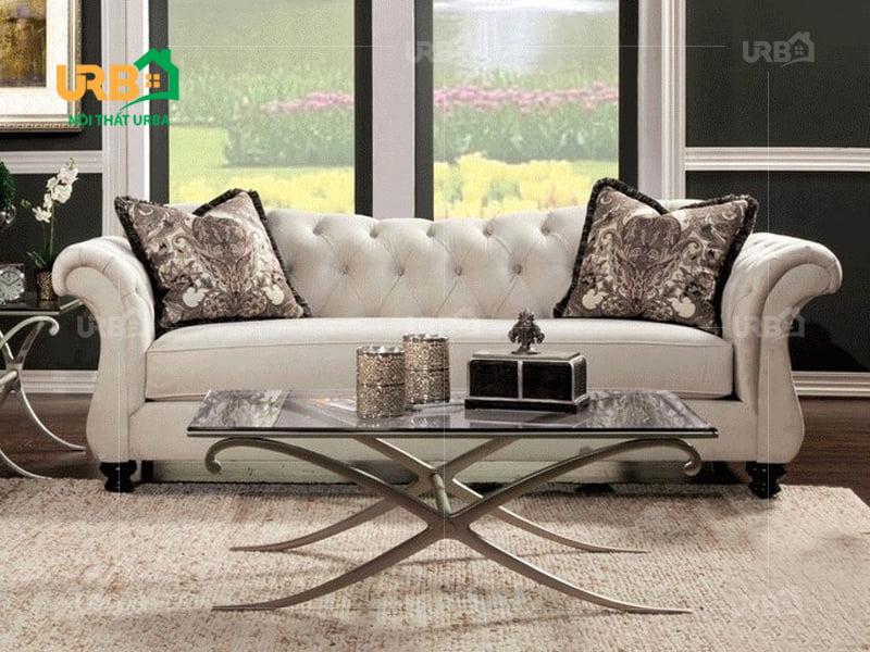 Sofa tân cổ điển 2015 cho phòng khách nhỏ