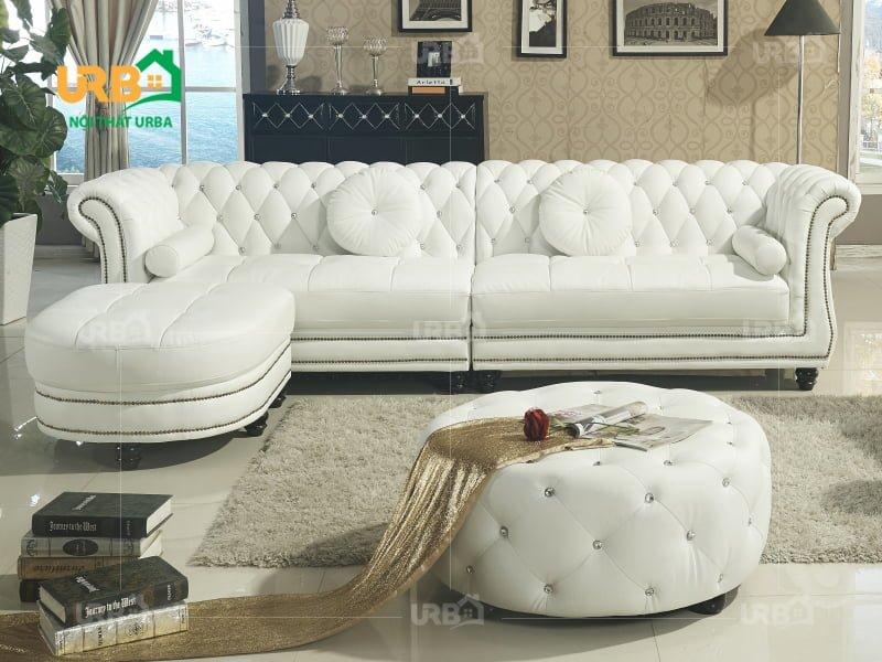 Sự linh hoạt trong thiết kế bộ sofa tân cổ điển 2025