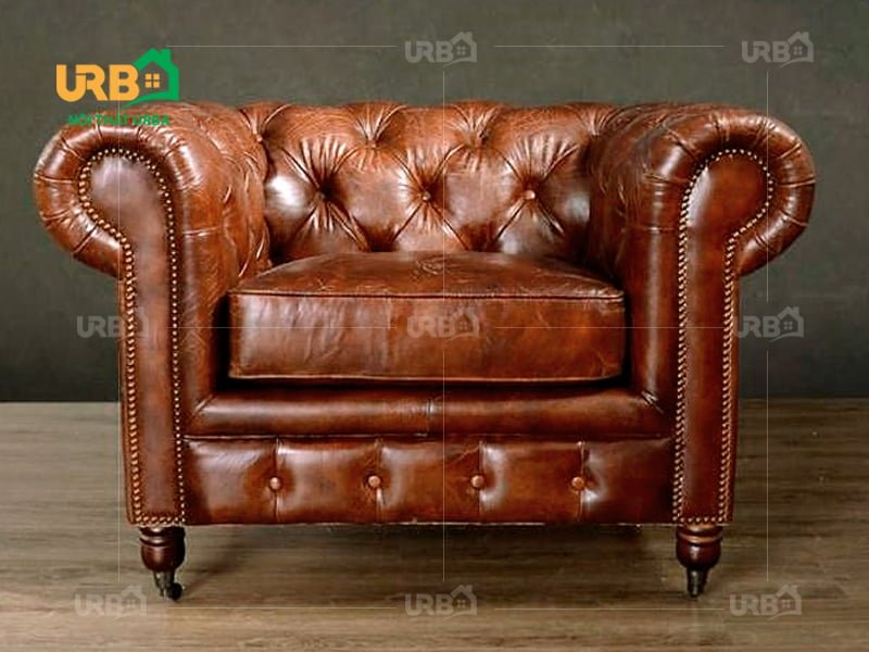 sofa tân cổ điển 2031 Đệm ghế dày dặn, bền bỉ