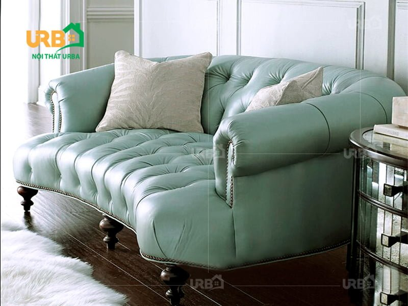 Sofa tân cổ điển 2034 Kiểu dáng sofa văng cho phòng khách nhỏ