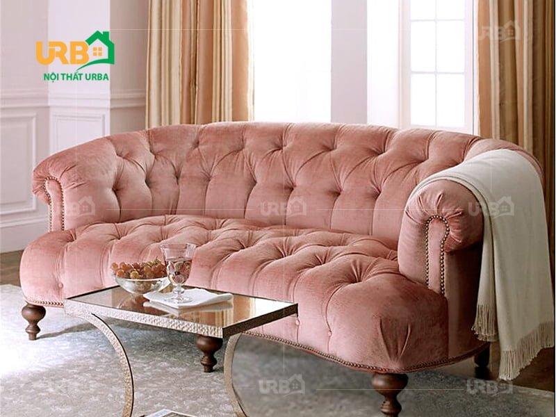Sofa tân cổ điển 2034 Đa dạng màu sắc, kích thước khi mua tại nội thất Urba