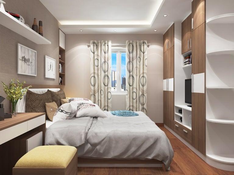 Thiết kế phòng ngủ cho chung cư nhỏ và vừa