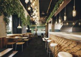 Thiết kế - Sắp đặt nhà hàng sang trọng