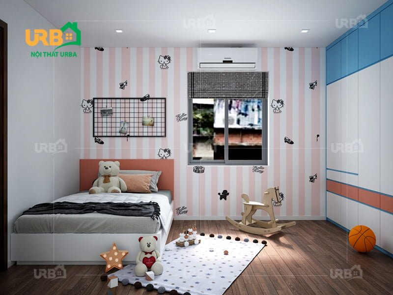 Mẫu thiết kế giường ngủ 1407