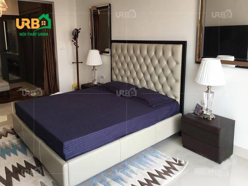 Mẫu thiết kế giường ngủ 1403