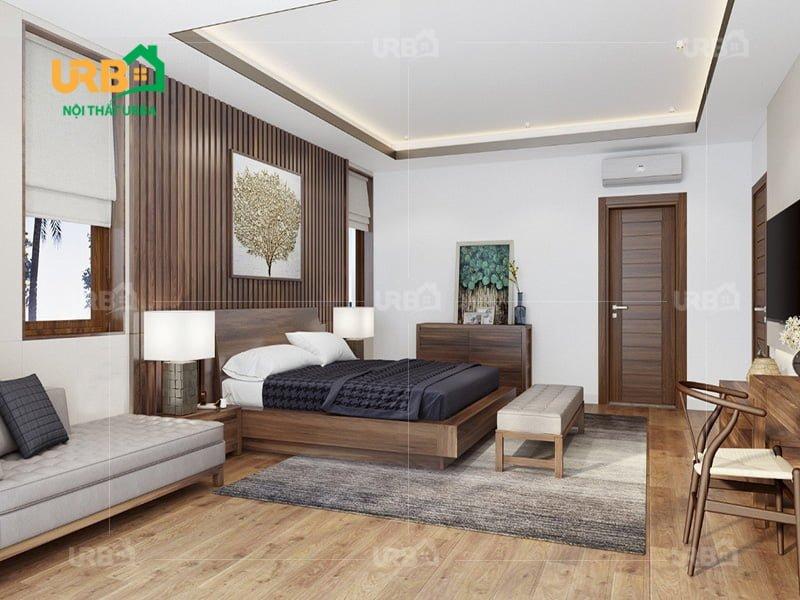 Mẫu thiết kế giường ngủ 1400