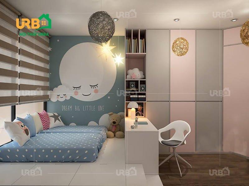 Mẫu thiết kế giường ngủ 1412