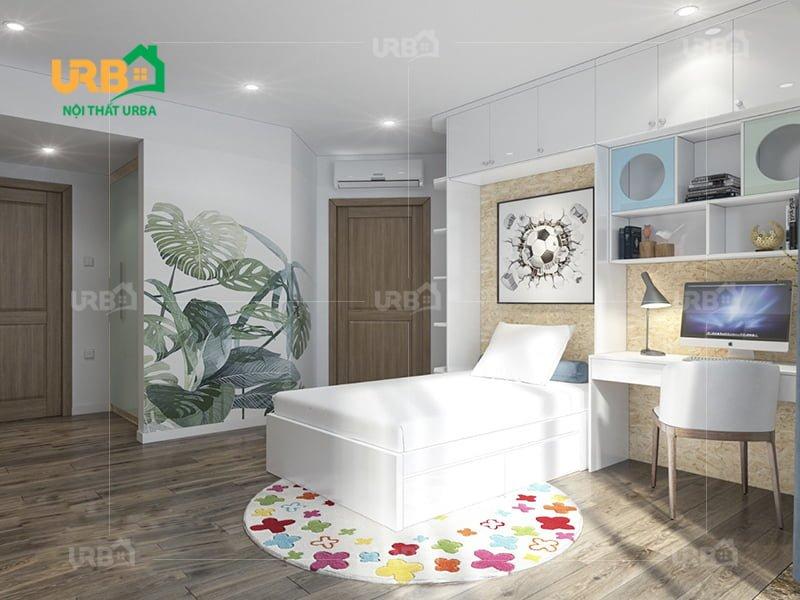 Mẫu thiết kế giường ngủ 1413
