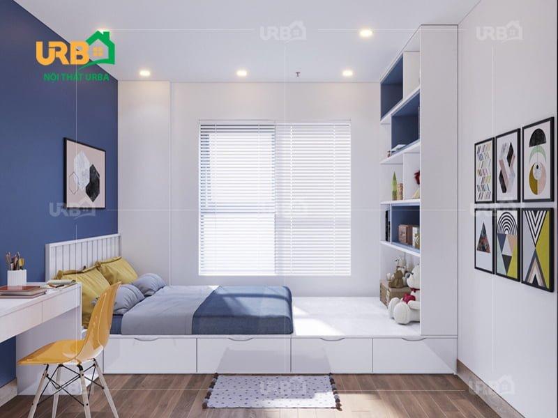 Mẫu thiết kế giường ngủ 1414