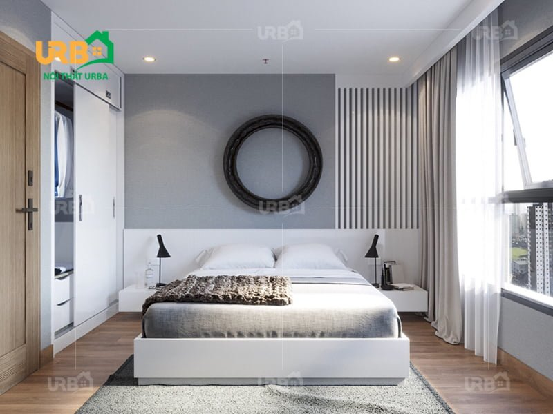 Mẫu thiết kế giường ngủ 1417