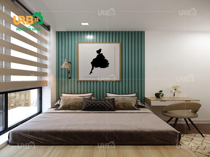 Mẫu thiết kế giường ngủ 1418