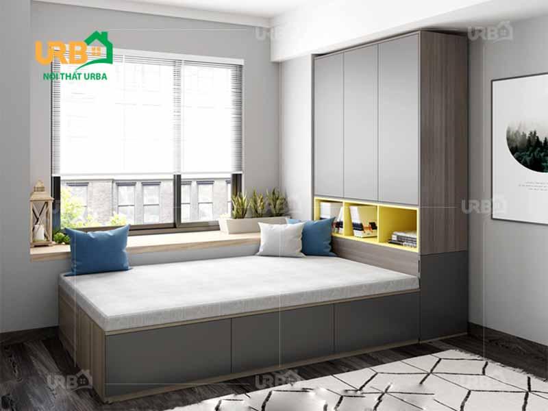Mẫu thiết kế giường ngủ 1425