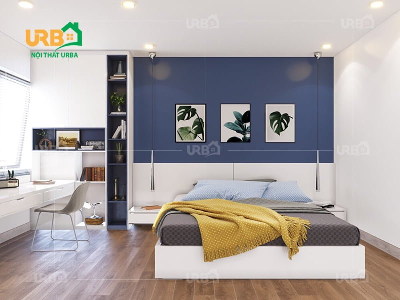 Mẫu thiết kế giường ngủ 1428