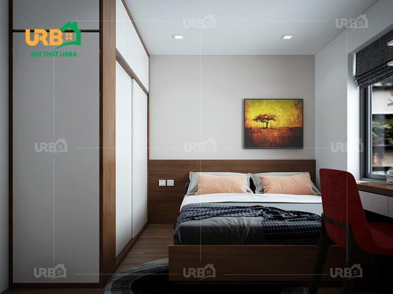 Mẫu thiết kế giường ngủ 1408