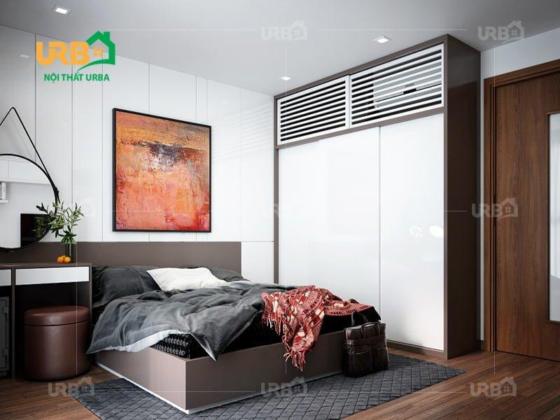 Mẫu thiết kế giường ngủ 1409