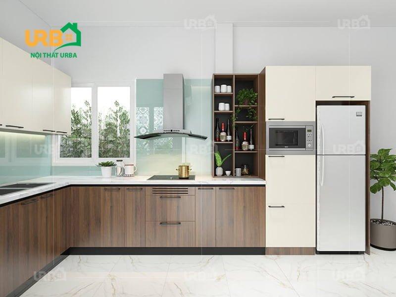 Tổng hợp những mẫu thiết kế nhà bếp căn hộ chung cư đẹp3
