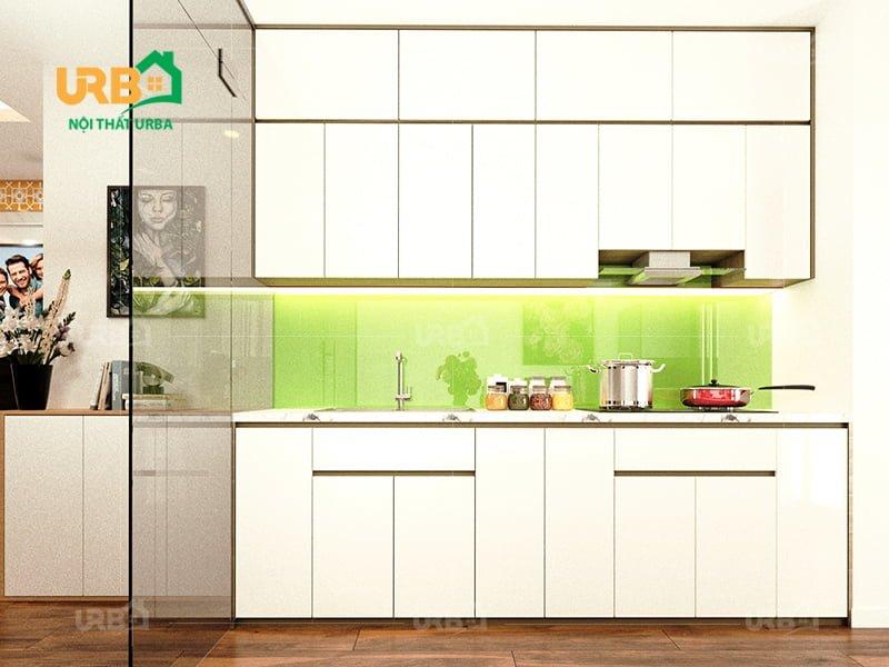 Tổng hợp những mẫu thiết kế nhà bếp căn hộ chung cư đẹp2