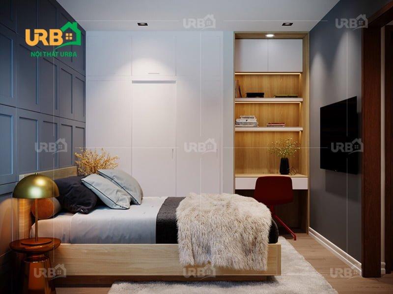 Mẫu thiết kế giường ngủ 1401