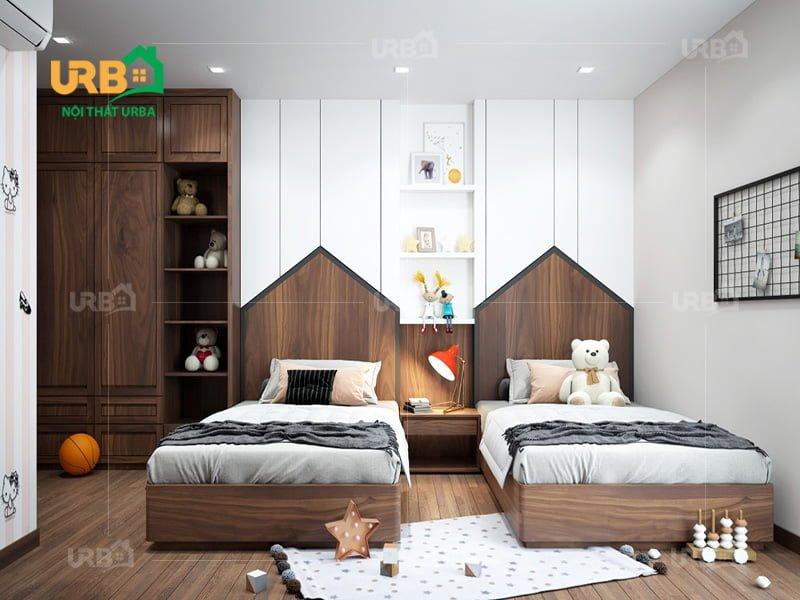 Mẫu thiết kế giường ngủ 1406