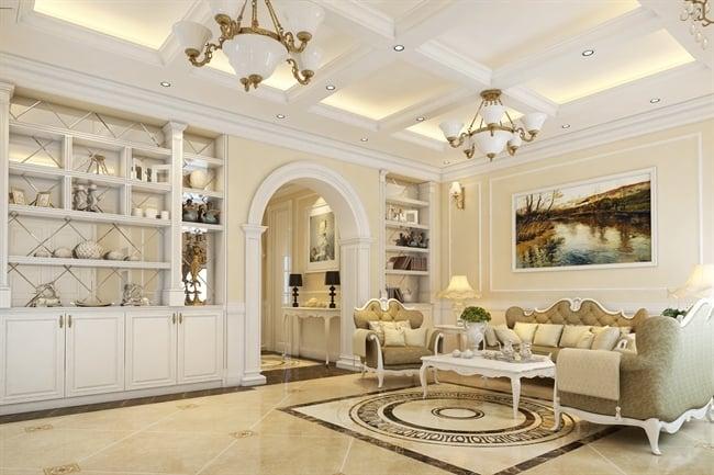5 Mẫu thiết kế nội thất phòng khách HOT hiện nay. 4