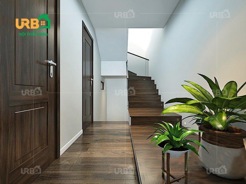 Không rời mắt với thiết kế nội thất phòng khách hướng thiên nhiên 6