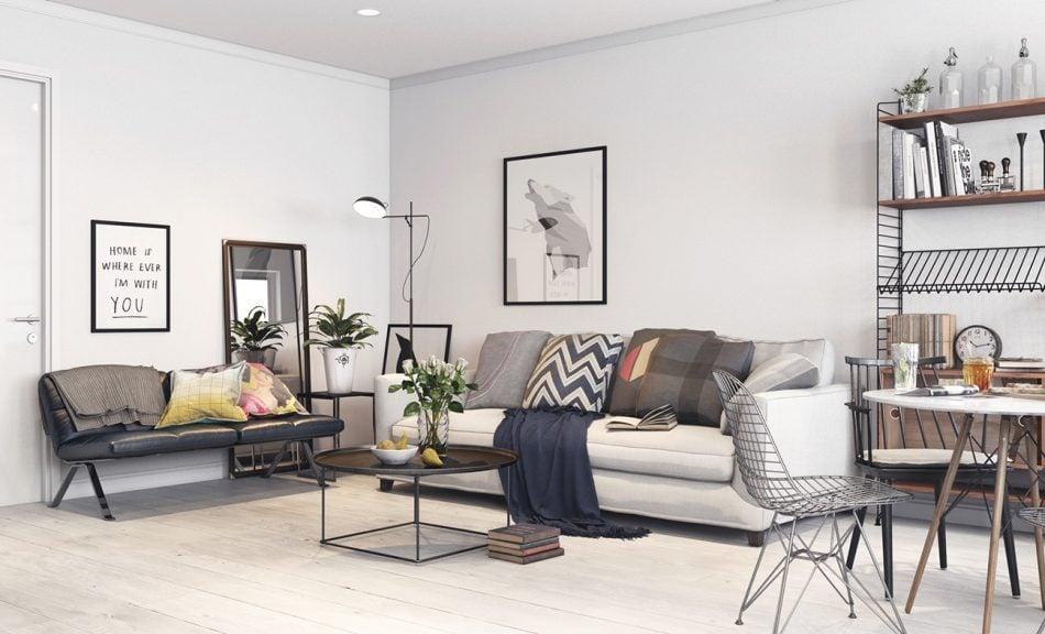 5 Mẫu thiết kế nội thất phòng khách HOT hiện nay. 3