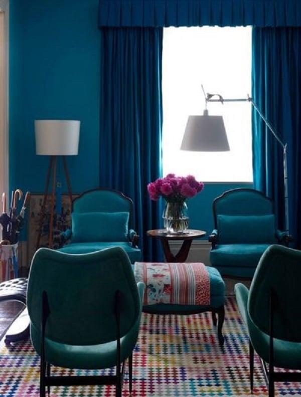 Phá cách với xu hướng thiết kế nội thất đa màu sắc 1