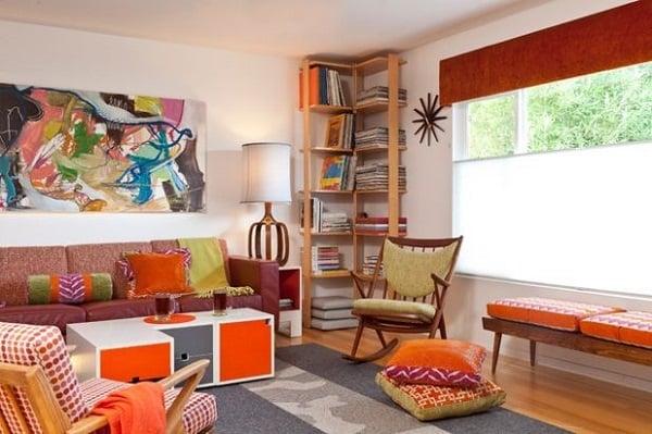 Phá cách với xu hướng thiết kế nội thất đa màu sắc 6