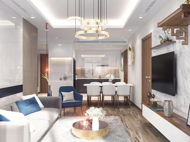 Thiết kế nội thất chung cư- anh Thức 2